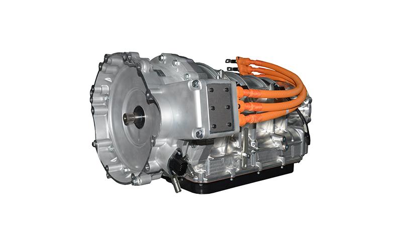 纵置混合动力8挡自动变速器