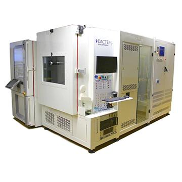 48V启发电机一体机性能测试台架