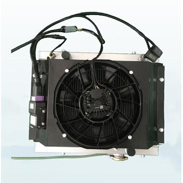 智能电子风扇散热系统