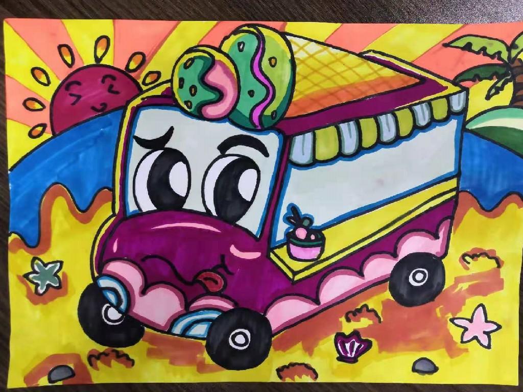 冰淇淋小车
