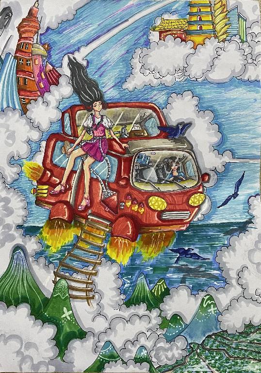 《旅行悬浮汽车》