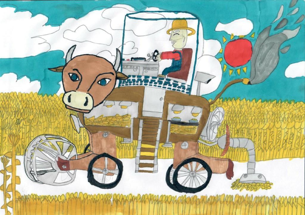 牛牛牌收割机