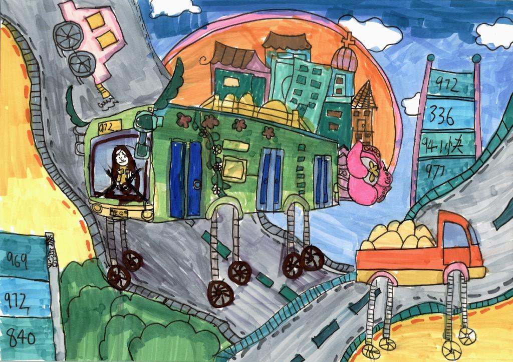 未来的公交大车